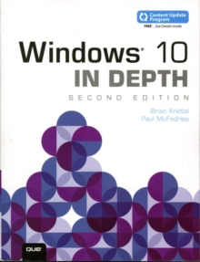 Windows 10 In Depth (includes Content Update Program), Paperback / softback Book