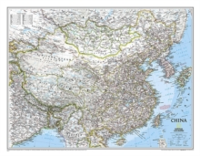 China Classic, Tubed : Wall Maps Countries & Regions, Sheet map, rolled Book