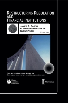 Restructuring Regulation and Financial Institutions, Hardback Book