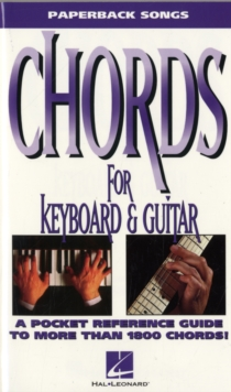 Paperback Songs : Chords For Keyboard And Guitar, Paperback / softback Book