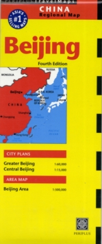Beijing Travel Map Fourth Edition, Sheet map, folded Book