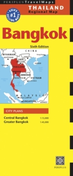 Bangkok Travel Map Sixth Edition, Sheet map, folded Book