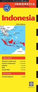 Indonesia Travel Map, Sheet map Book