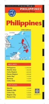 Philippines Travel Map : Fifth Edition, Sheet map Book