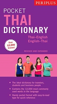 Periplus Pocket Thai Dictionary : Thai-English / English Thai, Paperback Book