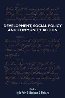 Development, Social Policy and Community Action : Lessons From Below, Paperback / softback Book