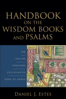 On the Wisdom Books and Psalms, Paperback / softback Book