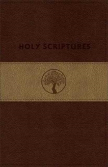 TLV Personal Size Giant Print Reference, Holy Scriptures, Brown/Sand LeatherTouch, Leather / fine binding Book
