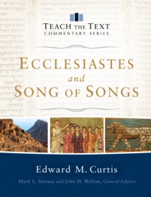 Ecclesiastes and Song of Songs, Hardback Book