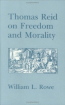 Thomas Reid on Freedom and Morality, Hardback Book