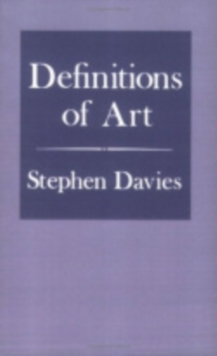 Definitions of Art, Paperback / softback Book