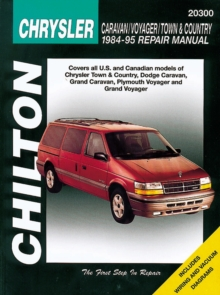 Dodge Caravan/Voyager/Town & Country (84 - 95) (Chilton), Paperback / softback Book