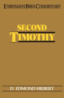 Second Timothy, Paperback / softback Book