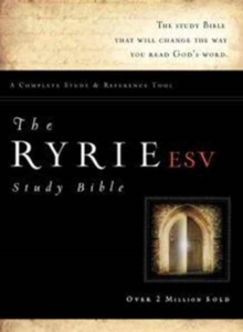 Ryrie Study Bible-ESV, Leather / fine binding Book