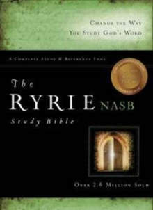 Ryrie Study Bible-NASB, Leather / fine binding Book