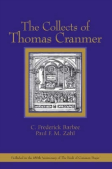 The Collects of Thomas Cranmer, Paperback / softback Book