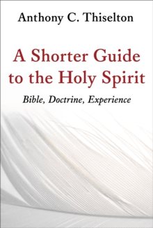A Shorter Guide to the Holy Spirit : Bible, Doctrine, Experience, Paperback / softback Book