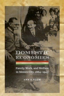 Domestic Economies : Family, Work, and Welfare in Mexico City, 1884-1943, Paperback / softback Book