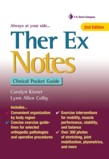 Ther Ex Notes, 2e, Spiral bound Book