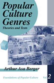 Popular Culture Genres : Theories and Texts, Paperback / softback Book