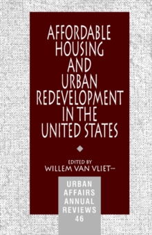 Affordable Housing and Urban Redevelopment in the United States : Learning from Failure and Success, Paperback / softback Book
