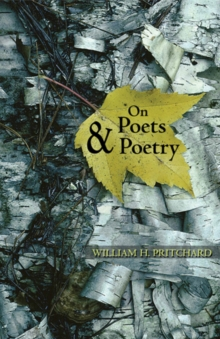 On Poets and Poetry, Paperback / softback Book