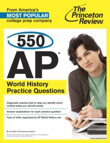 550 Ap World History Practice Questions, Paperback / softback Book
