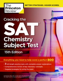 Cracking The Sat Chemistry Subject Test, 15Th Edition, Paperback / softback Book