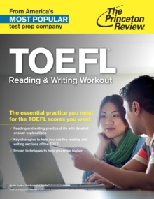 Toefl Reading & Writing Workout, Paperback / softback Book