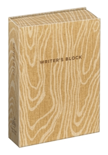 Writer's Block Journal, Hardback Book
