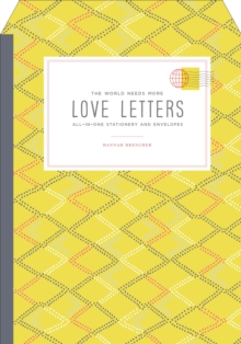 The World Needs More Love Letters Fold-And-Mail Stationery, Paperback / softback Book