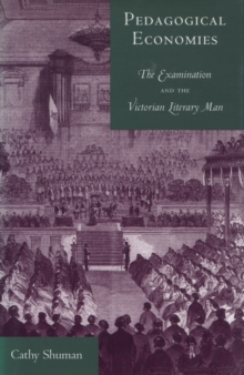 Pedagogical Economies : The Examination and the Victorian Literary Man, Hardback Book