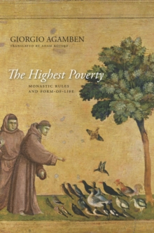 The Highest Poverty : Monastic Rules and Form-of-Life, Paperback / softback Book