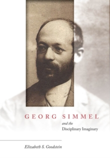 Georg Simmel and the Disciplinary Imaginary, Hardback Book