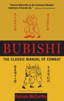 Bubishi : The Classic Manual of Combat, Hardback Book