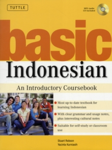 Basic Indonesian : An Introductory Coursebook (MP3 Audio CD Included), Mixed media product Book