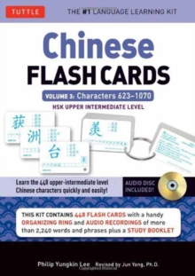 Chinese Flash Cards Kit Volume 3 : HSK Upper Intermediate Level (Audio CD Included) Volume 3, Mixed media product Book
