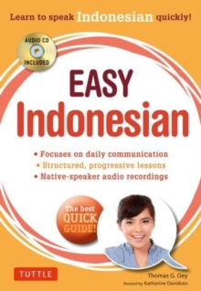 Easy Indonesian, Paperback Book