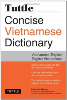 Tuttle Concise Vietnamese Dictionary : Vietnamese-English English-Vietnamese, Paperback Book