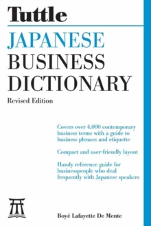 Japanese Business Dictionary, Paperback / softback Book