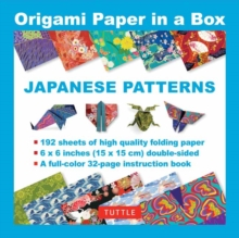 Origami Paper in a Box : Japanese Patterns, Mixed media product Book