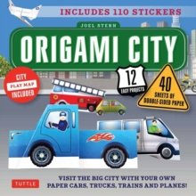Origami City : Fold Your Own Cars, Trucks, Planes and Trains!, Mixed media product Book