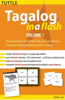 Tagalog in a Flash Kit Volume 1, Mixed media product Book