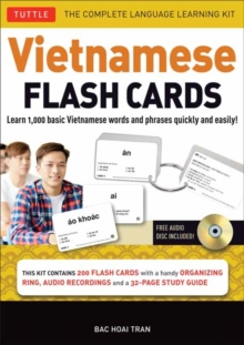 Vietnamese Flash Cards Kit : The Complete Language Learning Kit, Kit Book