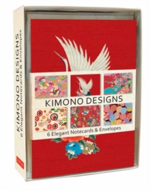 Kimono Note Cards : 6 Blank Note Cards and Envelopes, Kit Book