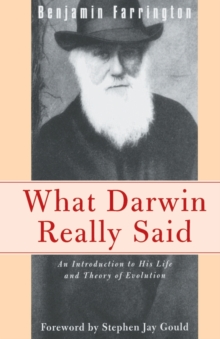 What Darwin Really Said, Paperback / softback Book