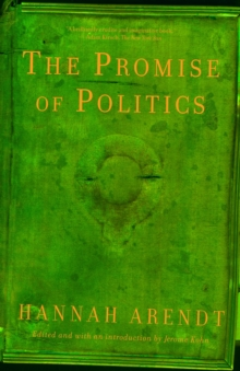 The Promise Of Politics, Paperback / softback Book