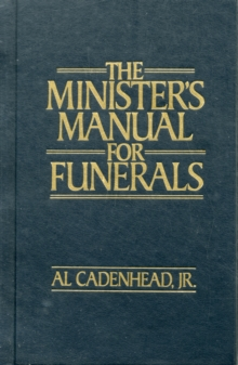 Minister's Manual for Funerals, Hardback Book