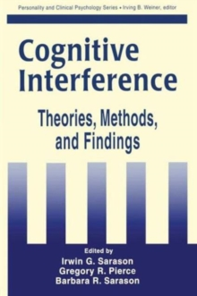 Cognitive Interference : Theories, Methods, and Findings, Hardback Book