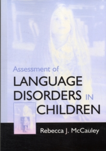 Assessment of Language Disorders in Children, Paperback / softback Book
